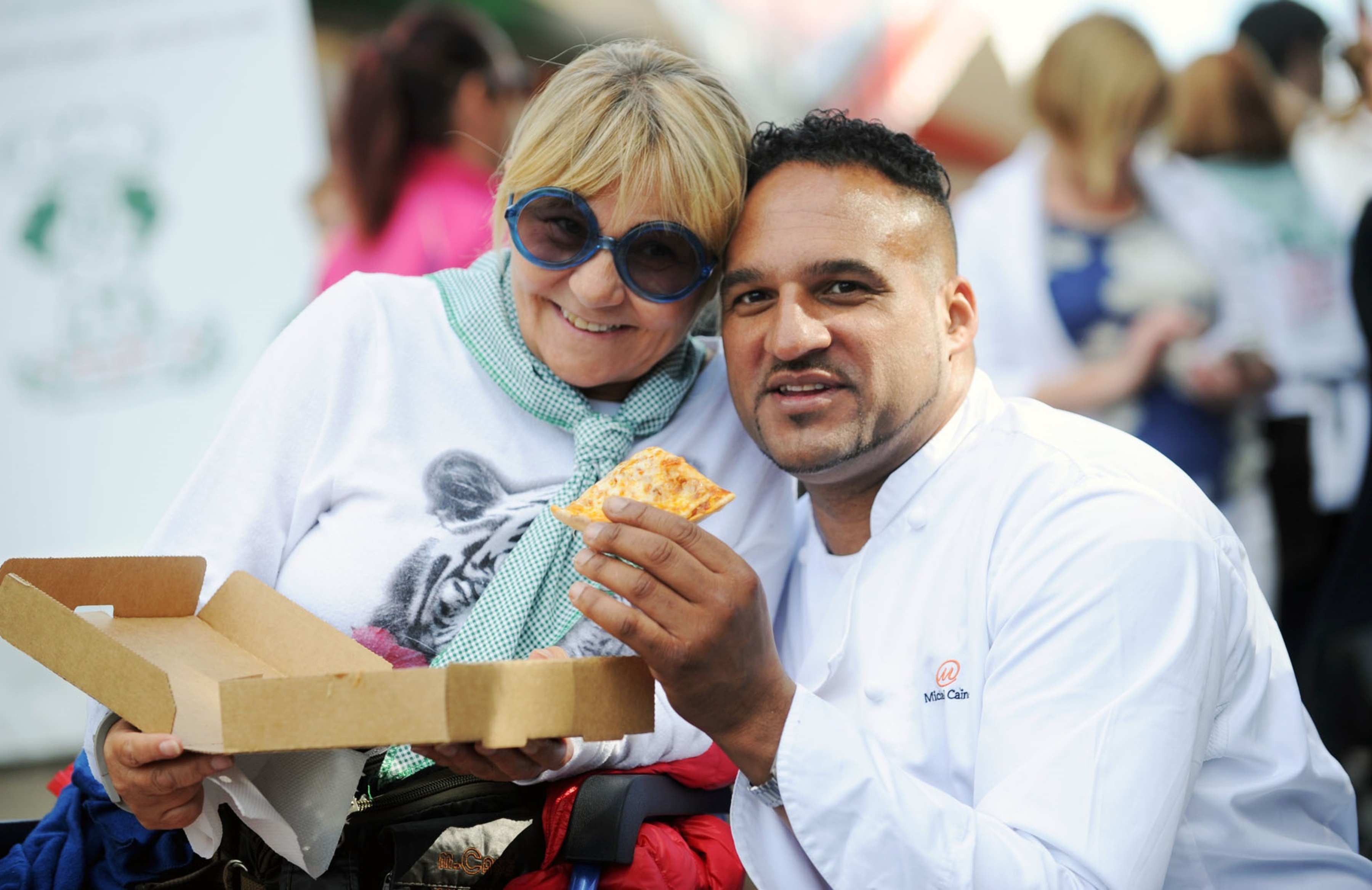 Franca with Michael Caines 2015