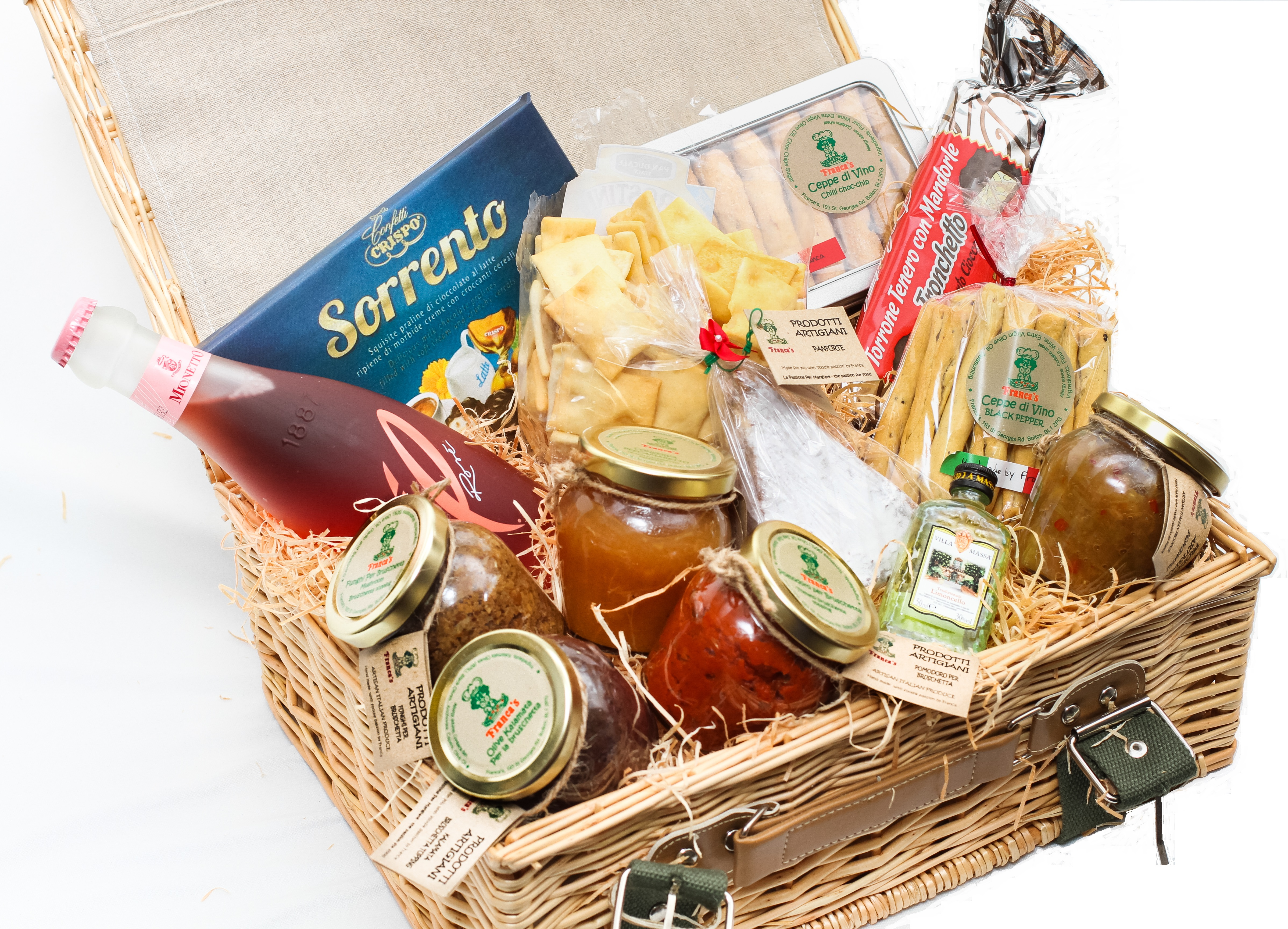 Traditional italian christmas hamper franca 39 s kitchen for Italian kitchen gifts