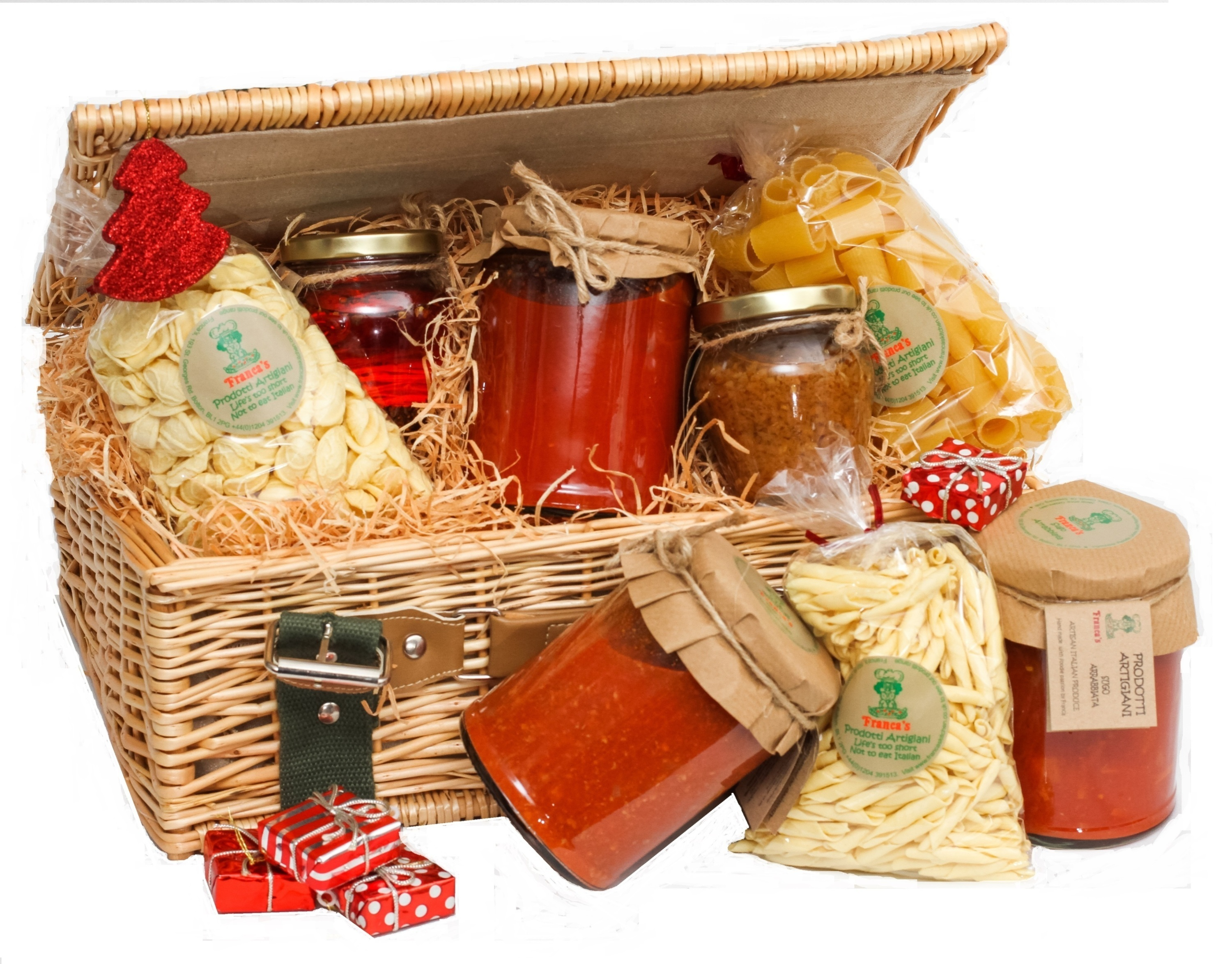 Franca s kitchen cupboard hamper franca 39 s kitchen for Italian kitchen gifts